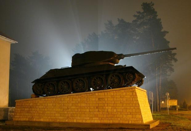 Borne Sulinowo, czołg