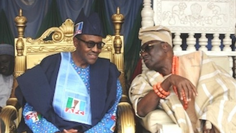 OBA Of Lagos and Buhari 2 (Kemi Ashefon Love Haven)