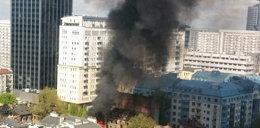 Tak wygląda centrum Warszawy. Co się stało?
