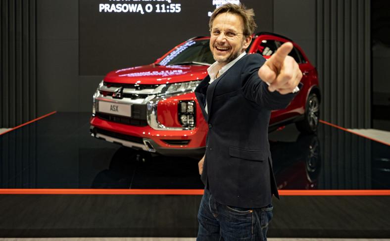 Bartłomiej Topa i Mitsubishi ASX
