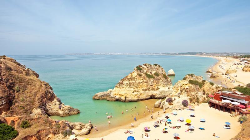 Plaża w Algarve