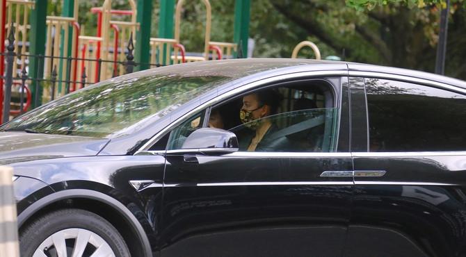 Irina Šajk za volanom