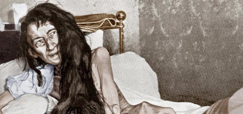 Przez 25 lat trzymano ją w ukryciu na strychu. Gdy weszli do środka leżała w skorupie z ekskrementów na zgniłym sienniku