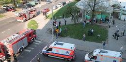 300 ewakuowanych z bloku w Łodzi