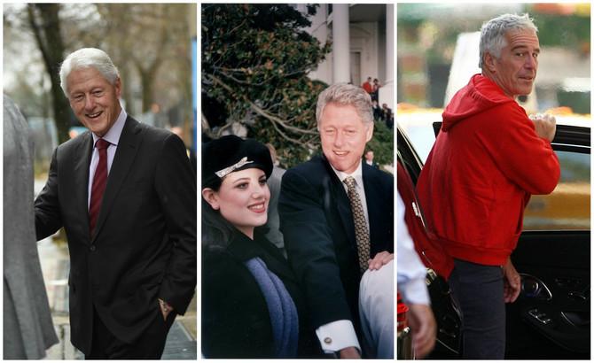 """Epstajn je navodno bio fasciniran aferom """"Klinton-Levinskim"""""""