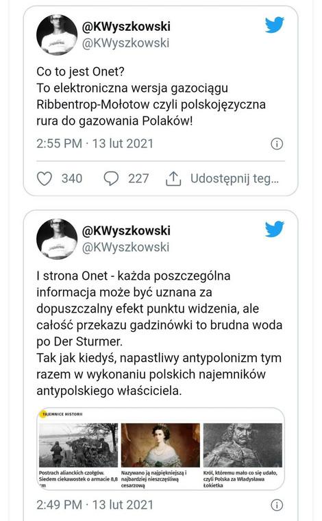 Tweety Krzysztofa Wyszkowskiego