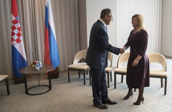 Kolinda i Sergej Lavrov