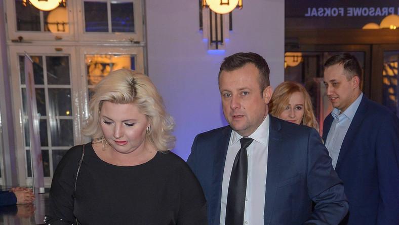 Adrian Klarenbach z żoną Lucyną