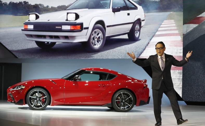 Prezydent Toyoty, Akido Toyoda, zanim dał zielone światło do rozpoczęcia produkcji, osobiście przetestował samochód na torze Nürburgring, by mieć pewność, że Toyota GR Supra spełni oczekiwania