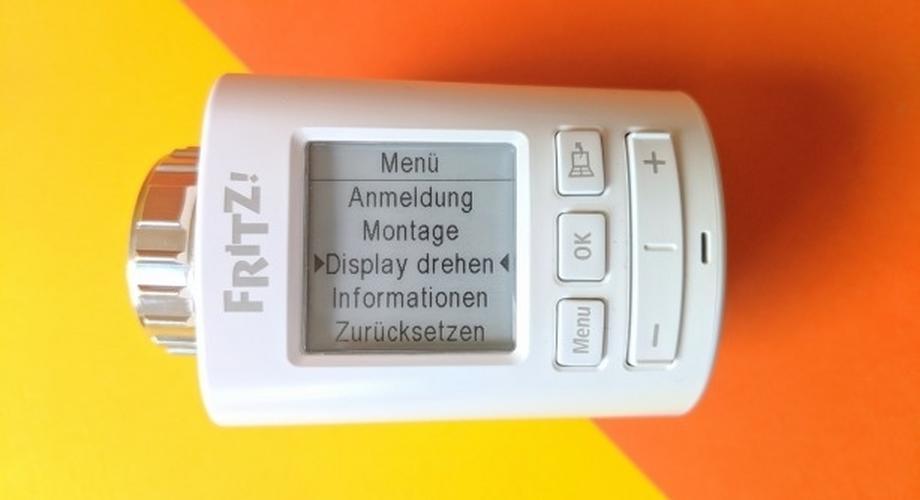 Test AVM-Thermostat Fritzdect 301: Alles auf Datenschutz