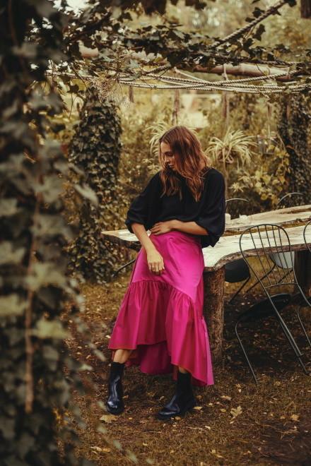 Anna Wendzikowska w kampanii kolekcji Loriini jesień/zima 2020