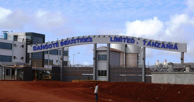 Dangote Cement, Tanzania. (Africanews)