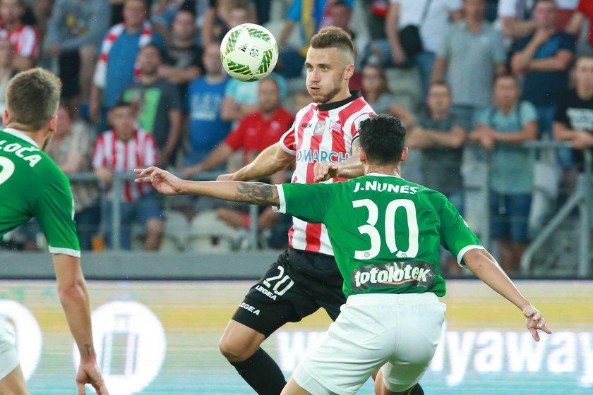 Cracovia przegrała 0:1 z Lechią Gdańsk