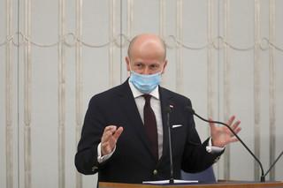 Senat debatował nad kandydaturą Wróblewskiego na RPO. Głosowanie o godz. 20