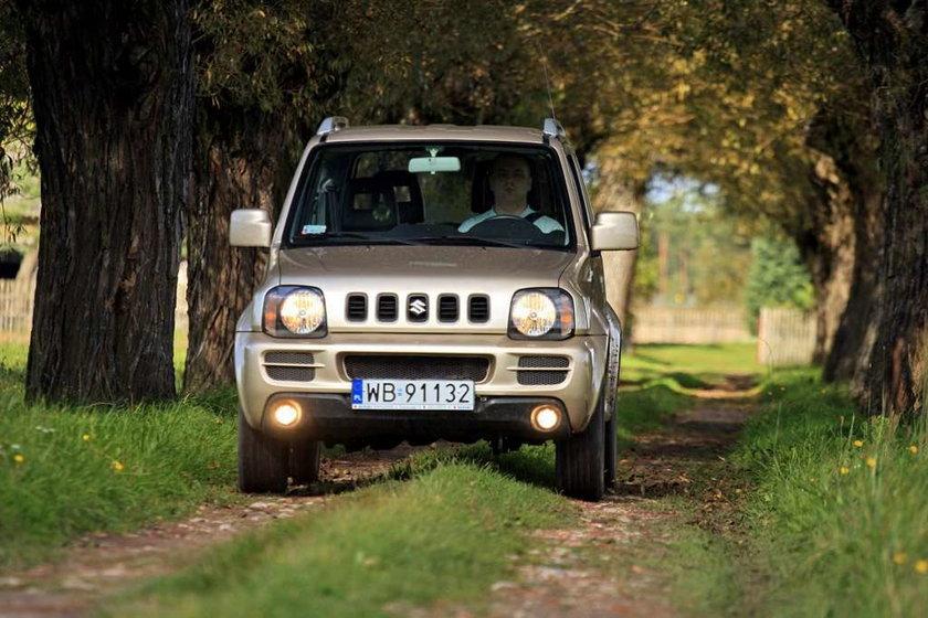 Suzuki Jimny, Suzuki, auto, samochód, SUV, terenówka,