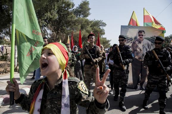 Kurdi, Sirija, SDF