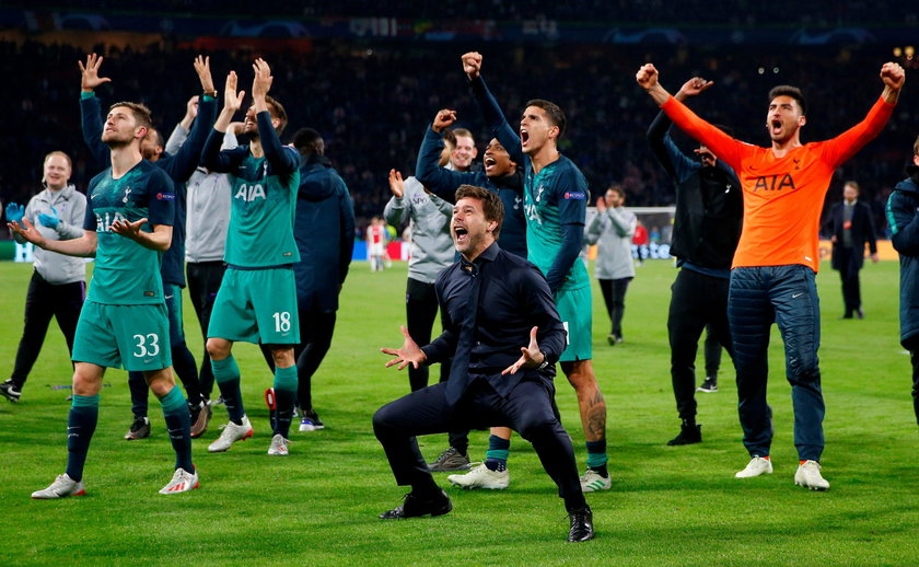 Champions League - Tottenham Hotspur Arrive In Madrid