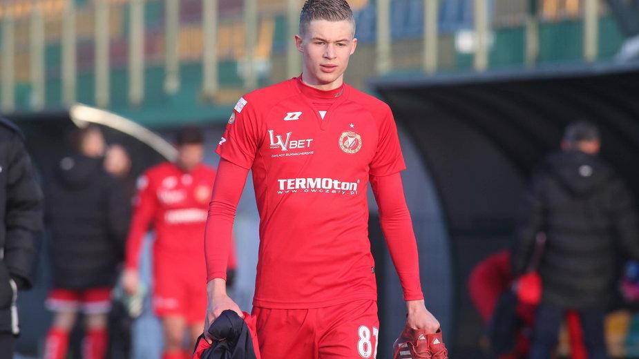 Michał Przybylski (w barwach Widzewa Łódź)