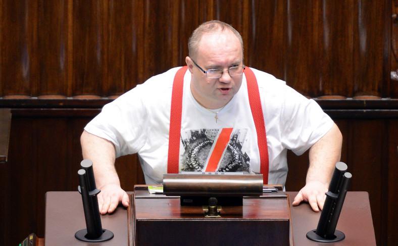 Poseł Kukiz'15 Rafał Wójcikowski