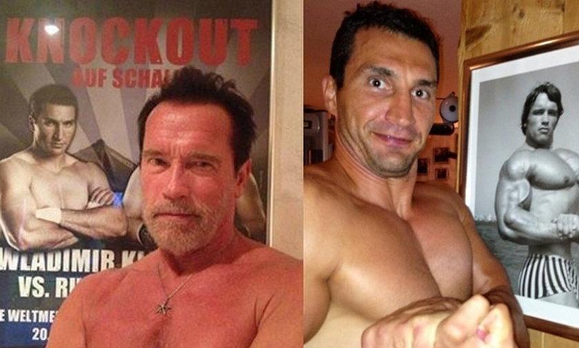 Arnold Schwarzenegger i Vladimir Klitschko