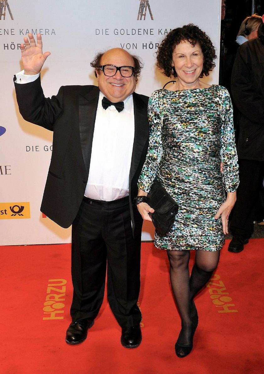Danny Devito i Rhea Perlman