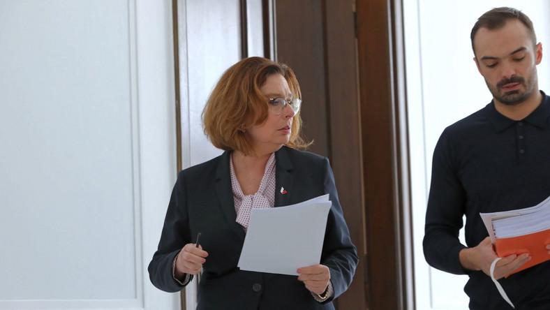 Małgorzata Kidawa-Błońska w Sejmie
