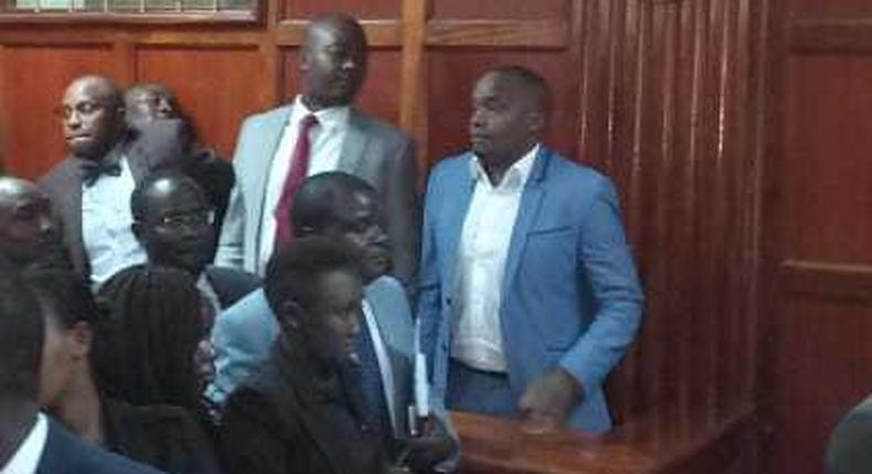 Starehe MP Charles Njagua Jaguar to spend Thursday night at Kileleshwa Police Station as he awaits bail ruling set for Friday