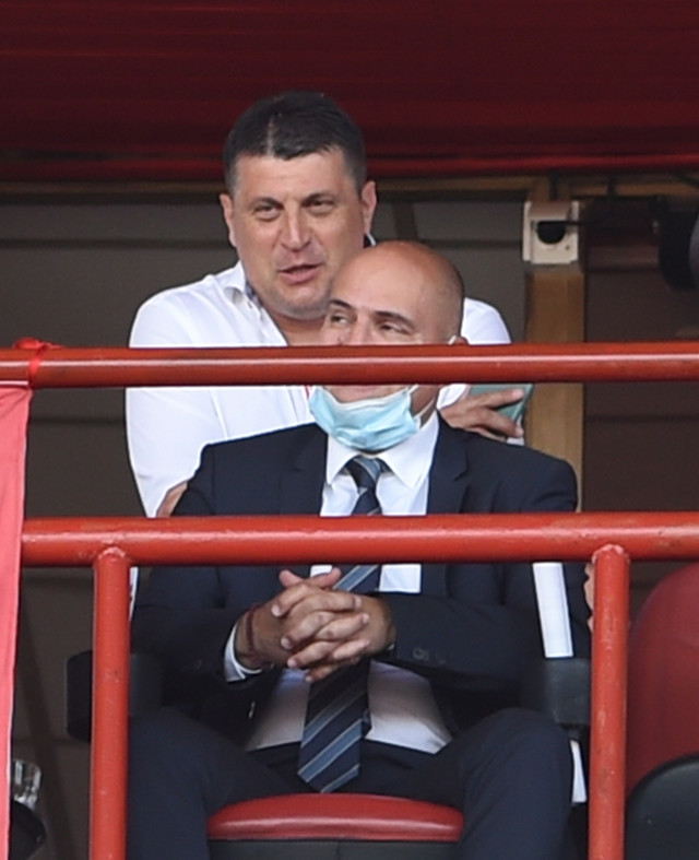 """Na stadionu """"Rajko Mitić"""" se nalazi i Vladan Milojević, bivši šef struke crveno-belih"""