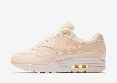 Nike Air Max 1 Wmns in Guava Ice-Sail