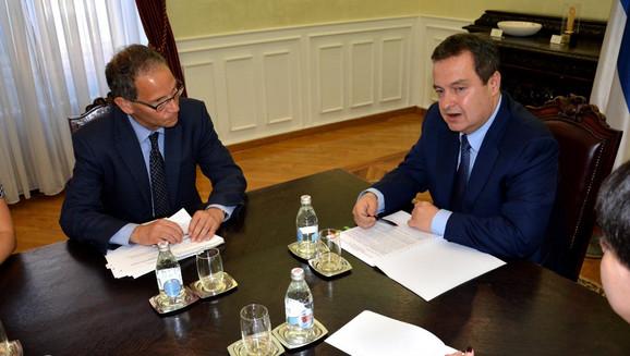 Čarls Kapčan i Ivica Dačić