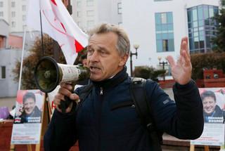 Białoruś: Anatol Labiedźka skazany na 15 dni aresztu