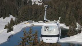 Chanel reklamuje swój butik w Courchevel na... wyciągu narciarskim