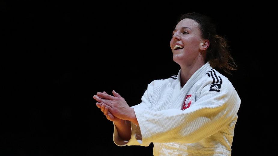 Beata Pacut. Mistrzyni Europy w judo w kategorii do 78 kg