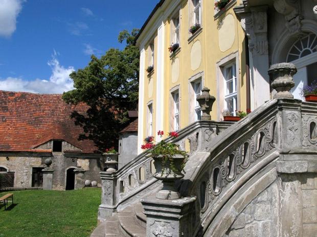 Pałac Lenno k. Wlenia