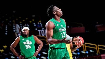 Nigeria's basketball team lose their opening game at Tokyo Olympic Games