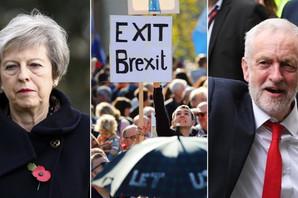 """BURA ZBOG BREGZITA Opozicija traži da Mej povuče svoj """"POLUPEČENI SPORAZUM"""", oglasila se i premijerka: Imamo samo tri opcije"""