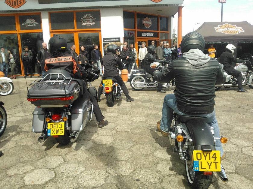 Harley od Tour w Gdańsku
