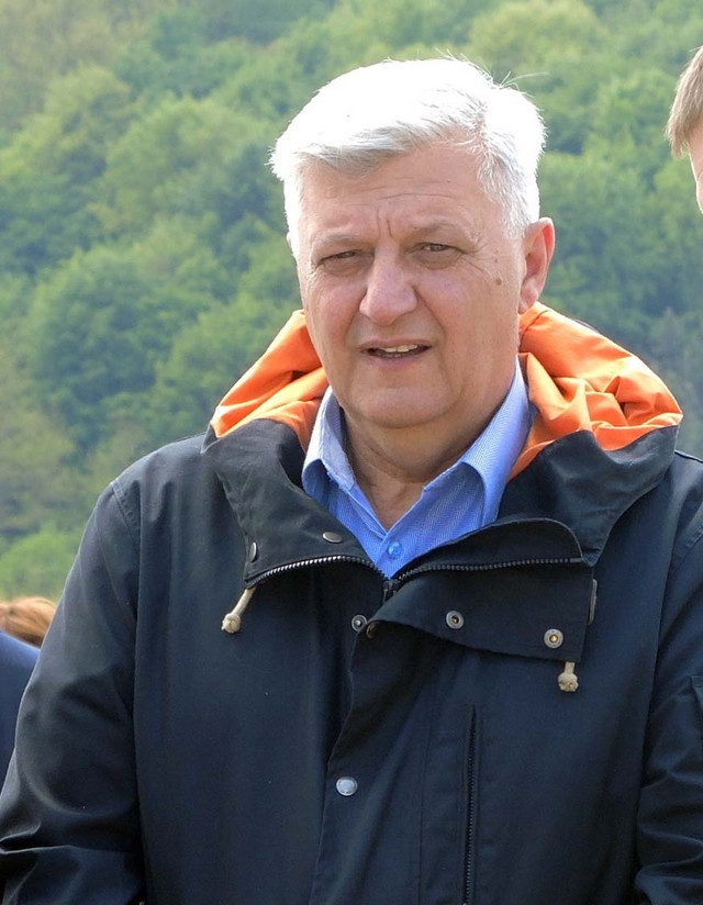 Milan Božić, predsedik opštine Požega