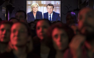 Prasa po debacie Macron-Le Pen: Nieskładna forma i nic nowego