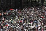 Protest, SAD, migranti, EPA -  KAMIL KRZACZYNSKI
