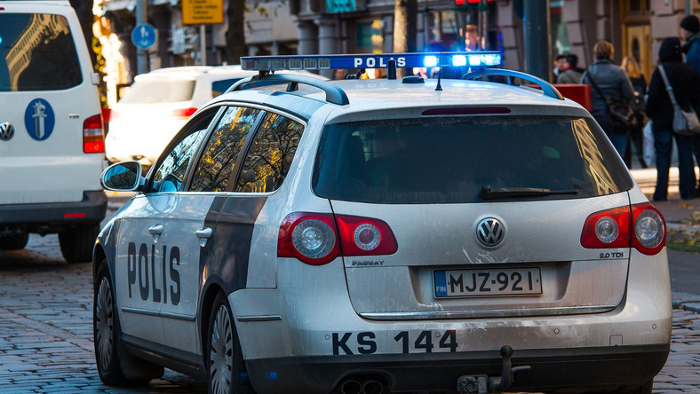 Fińska policja, radiowóz
