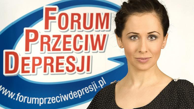 """Jolanta Fraszyńska została Honorowym Ambasadorem akcji """"Forum przeciw depresji"""""""