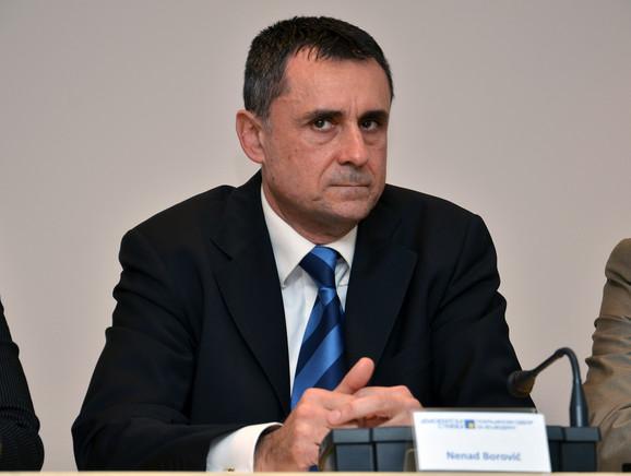 Ako treba da sledim politiku u kojoj se ne pita DS, već se pitaju Dragan Đilas ili Boško Obradović, onda ne žalim, kaže Borović