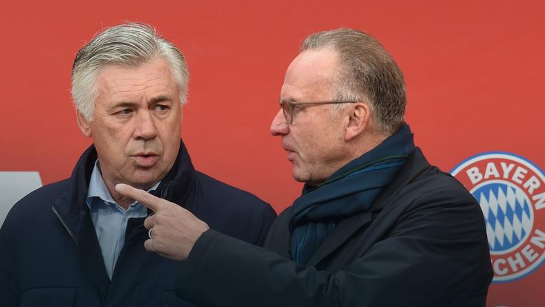 Carlo Ancelotti i Karl-Heinz Rummenigge