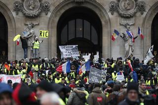 Francja: Zginął kolejny uczestnik protestu 'żółtych kamizelek'