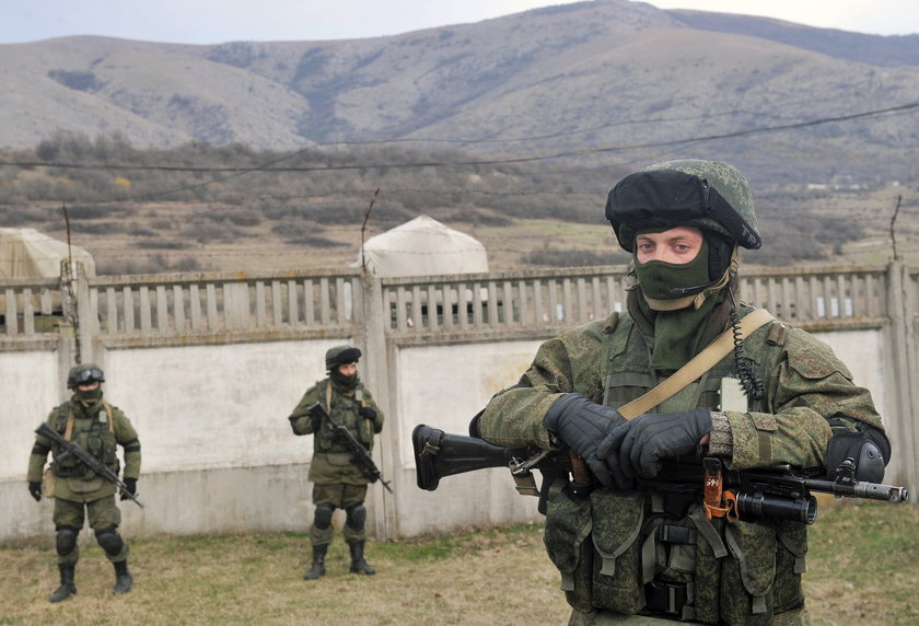 Rosjanie na Krymie