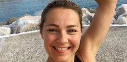 """Małgorzata Socha pokazała się w bikini! """"To jest aż nieprzyzwoite..."""" napisała na jej profilu Grażyna Wolszczak. O co jej chodziło?"""