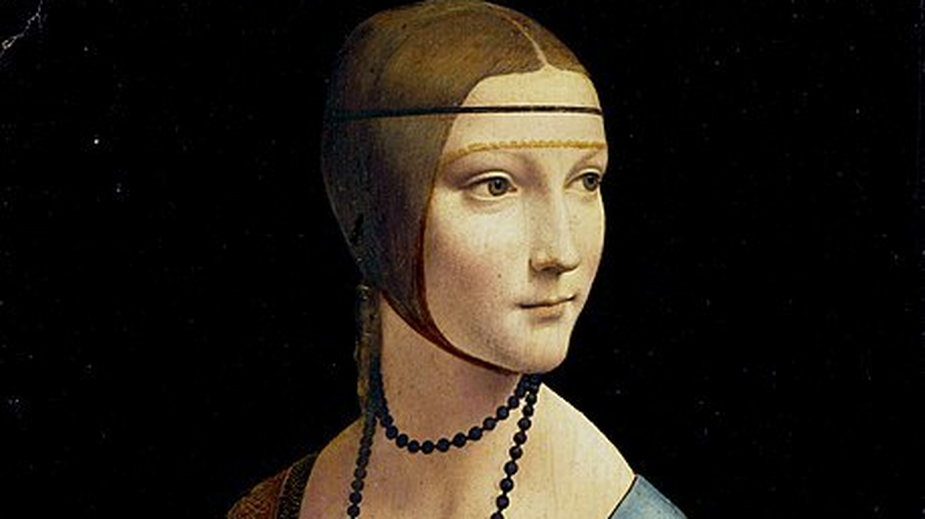 """Nazywano ją """"nową Safoną"""". Kim była kobieta z obrazu """"Dama z łasiczką""""?"""