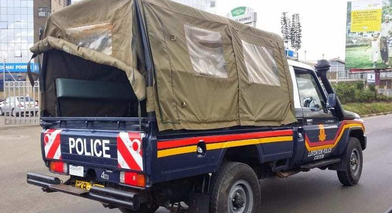 File image of a police vehicle