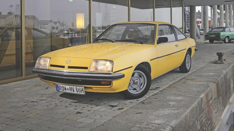 Opel Manta - błysk i grzmoty